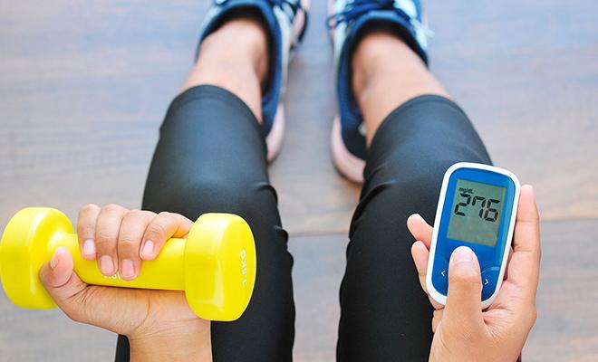 Ejercicio para personas con diabetes