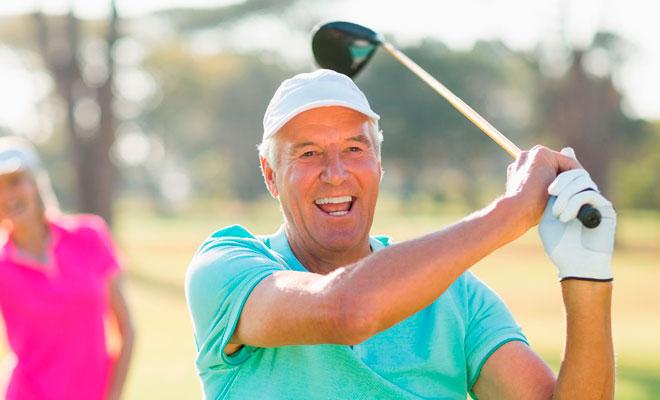 El golf y sus beneficios para el corazón