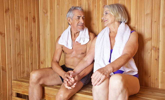 Ir al sauna podría disminuir la muerte por enfermedades cardiovasculares
