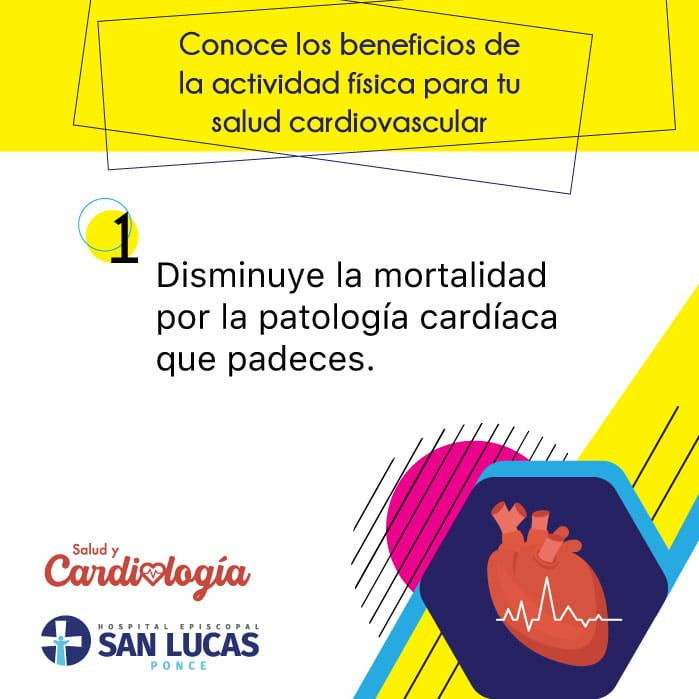 La actividad física disminuye la mortalidad si padeces una condición cardiovascular