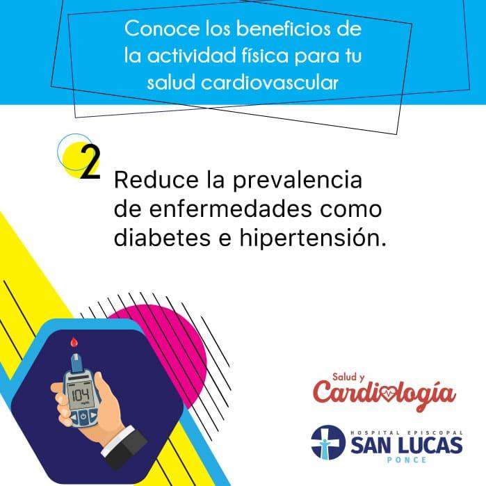 La actividad física reduce la prevalencia de enfermedades como la diabetes e hipertensión