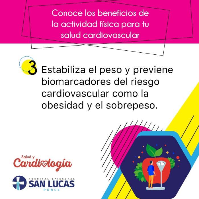 La actividad física estabiliza el peso y previene la obesidad y el sobrepeso