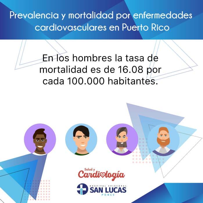 Prevalencia y mortalidad por enfermedades cardiovasculares en puerto rico