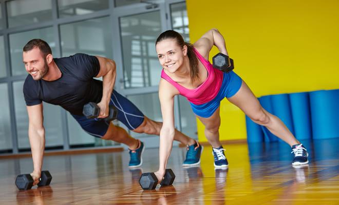 Reduce la grasa del corazón realizando entrenamiento de fuerza