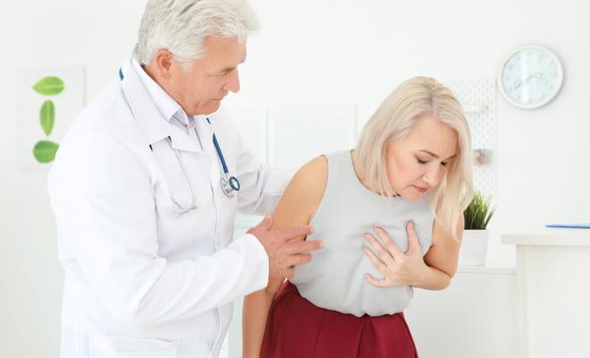 Mujeres poseen mayor riesgo de insuficiencia cardíaca después de un infarto de miocardio